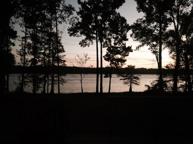 Quiet Lakefront Home with Amazing views & Fishing