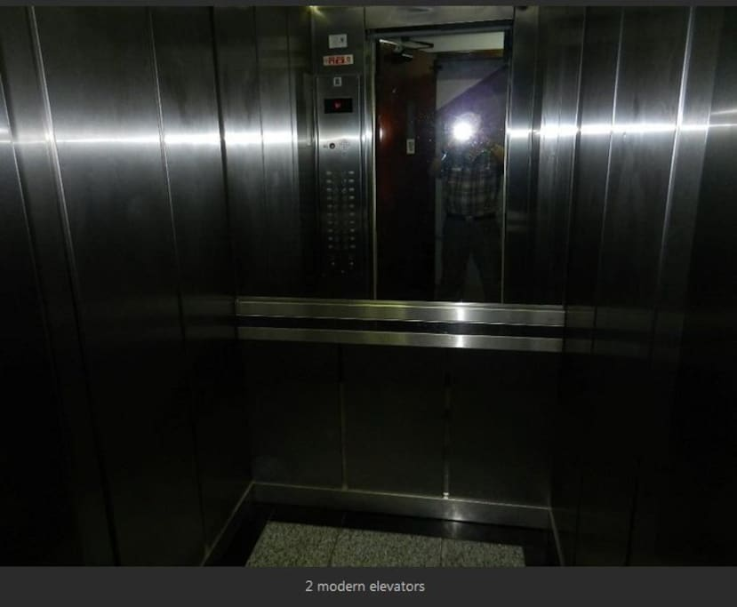 There are two elevators ...