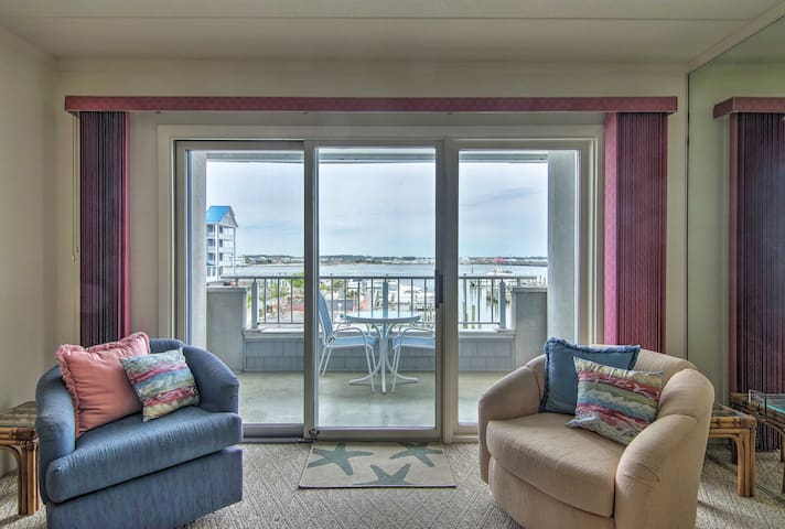 NEW-Ocean City Condo 2 Blocks to Beach & Boardwalk