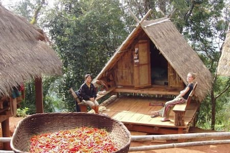 Live in Akha Hilltribe, Eco-tourism