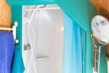 The little shower stall
