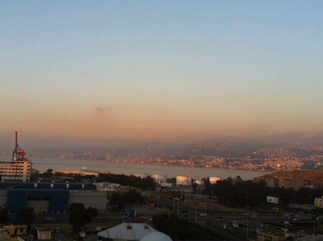 Cozy apartment with sea view - Beirut - Apartamento