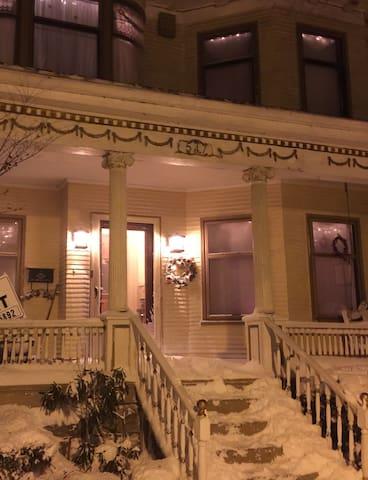 Elmwood Village cozy, new apt with skylights - Buffalo - Apartamento