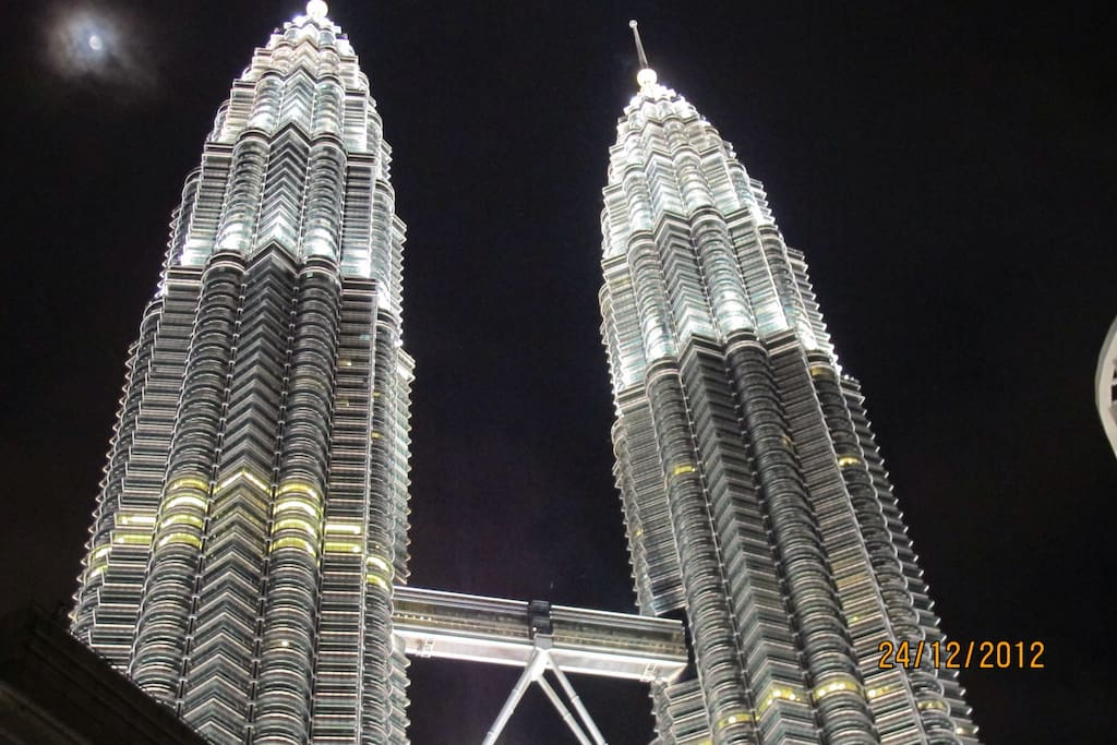 Within the vicinity of the Petronas Twin towers