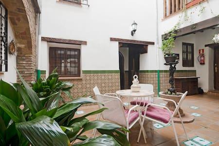 Habitación privada en casa con patio andaluz - Granada - House