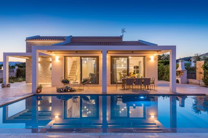 Zante Prime Villas , Villa Anemona private pool