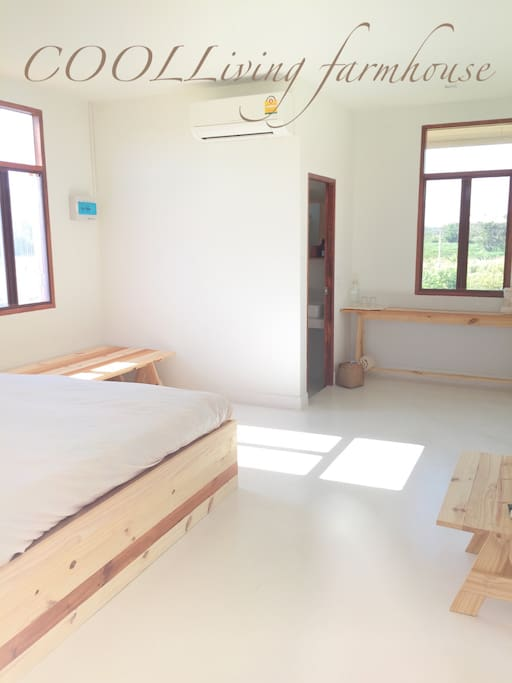 Corner room, furnitres are pine tree with free formaldehyde bed collection and low VOCs room.