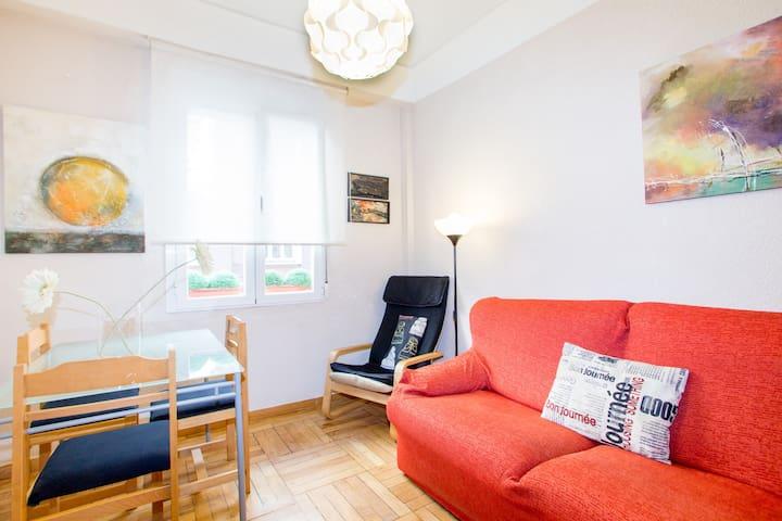 Bº Salamanca -5pax -3bedrooms - 2wc - Madrid - Apartamento