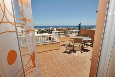 Apartamento en Mojácar-playa y golf - Mojácar