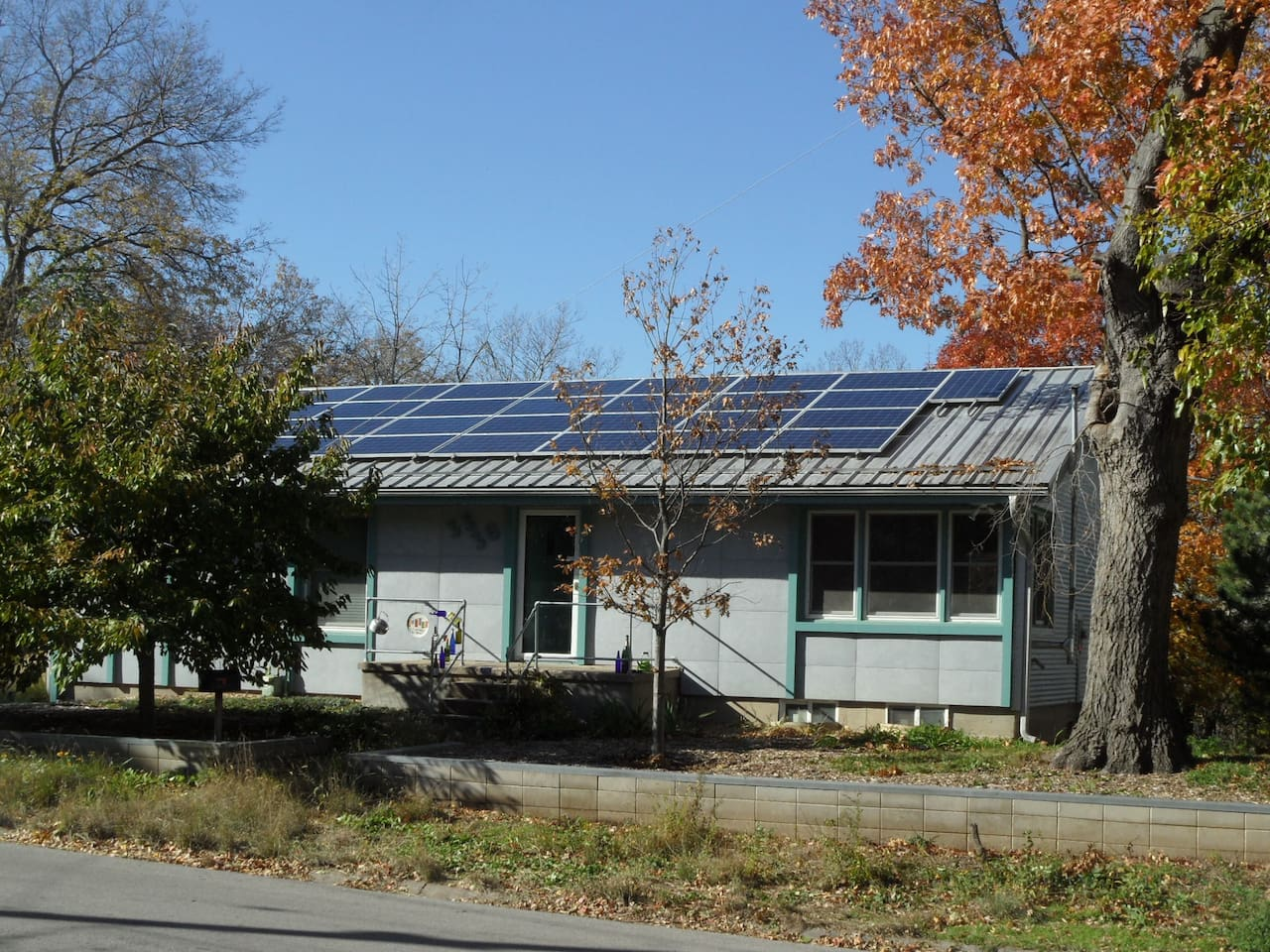 New solar panels will provide most of  my electricity.