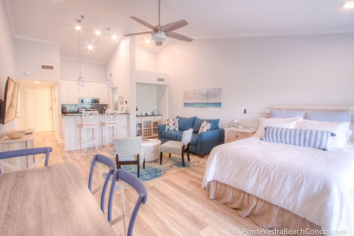 Renovated 2019! Beach Condo @Sawgrass Country Club