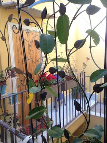 Apartment near Ballarò market. SELF CHEK-IN