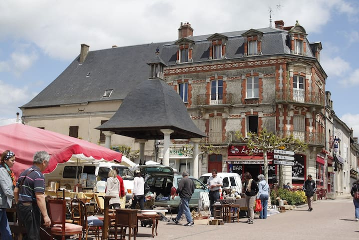 Chambres d'hôtes Le-Parc - Méry-és-Bois - Wikt i opierunek