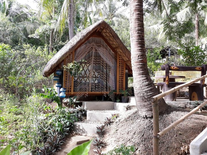 Zallags Glamping Garden Kubo#1 NatureFarmLife