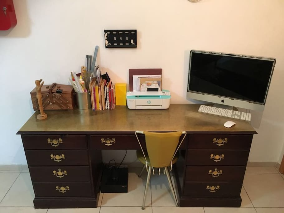 working desk