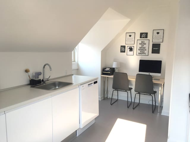 Nice and spacious apartment close to Copenhagen - Rødovre - Daire