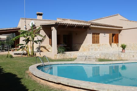 Nice house Sa Rosa -Swiming pool-Wifi - Sa Coma - Casa