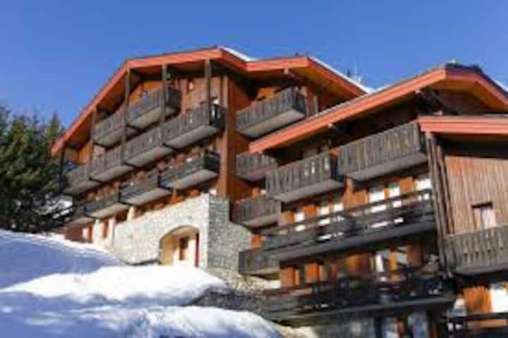 vue magnifique , résidence ski aux pieds
