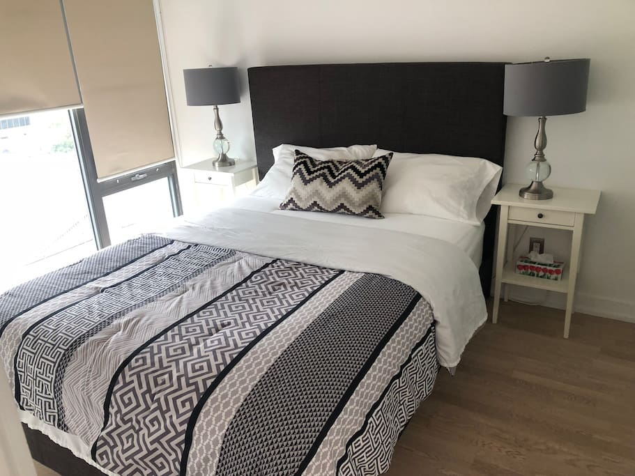 Spacious Private Master bedroom with Queen size bed for two
