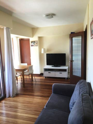 3 hab.Barrio El Antiguo junto a Playa Ondarreta - San Sebastián - Apartment