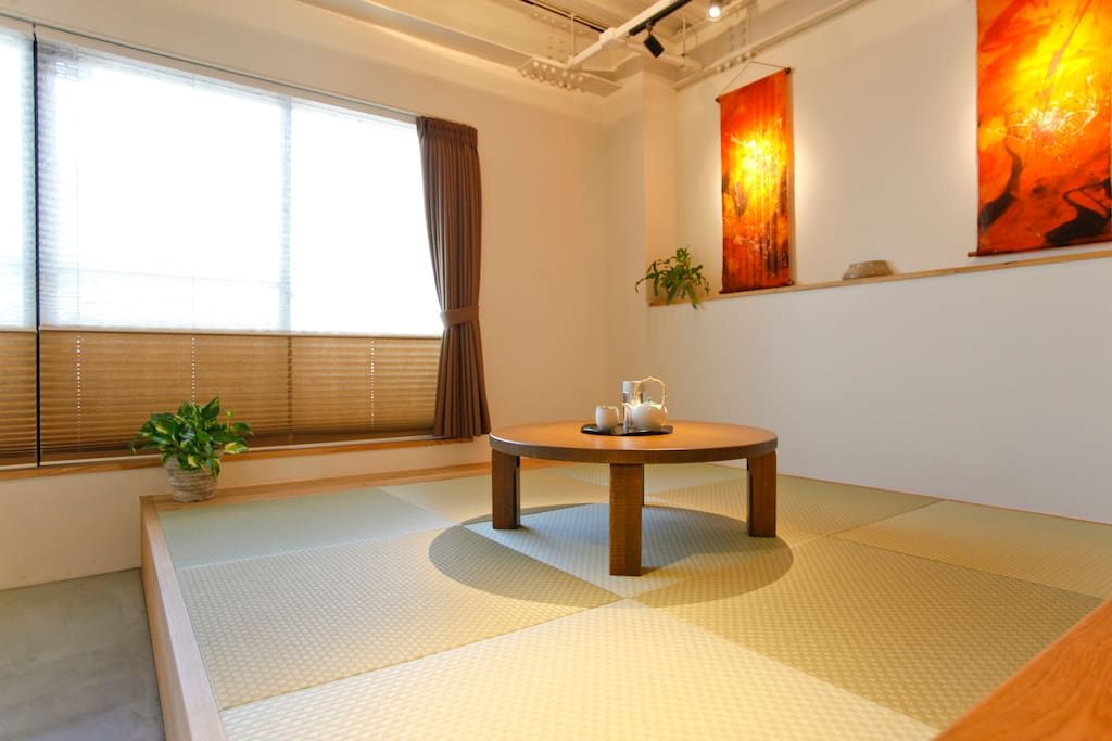 Tatami corner is good to do meditation or Yoga