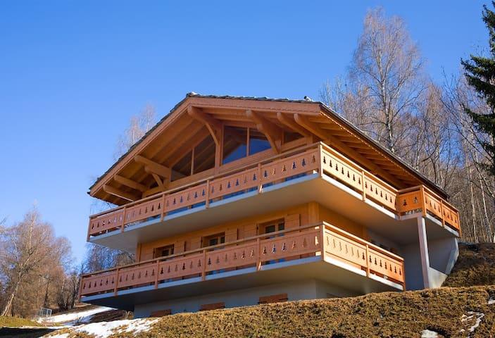 Luxury Chalet Les Quatre Vallées Valais with sauna - Les Agettes