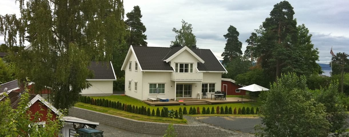 New house in quiet neighborhood - Asker - Huis