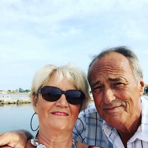 Merci à Marcelle et Aimé de leur confiance et de leur gentillesse lors de leur séjour en Septembre 2018