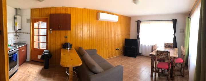 Cabañas céntricas y acogedoras en Coyhaique