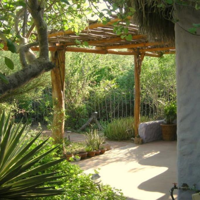 Entrance to the Garden Casita