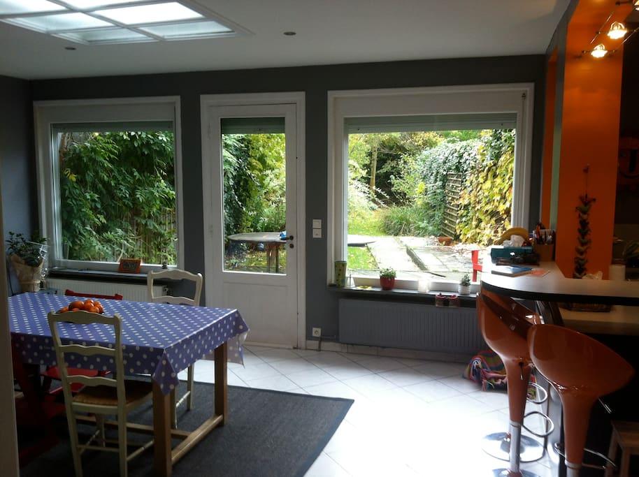 Charmante maison typique houses for rent in roubaix for Decoration maison 150m2