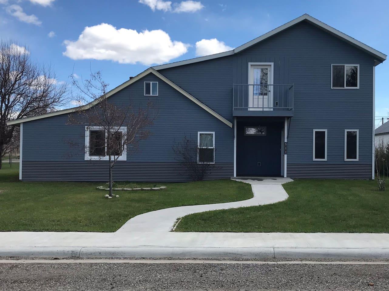 The Blue Bird House