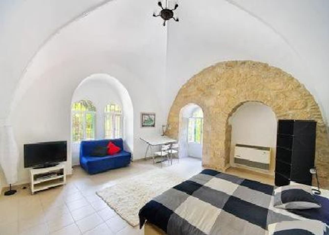 200 year old domed Master Bedroom