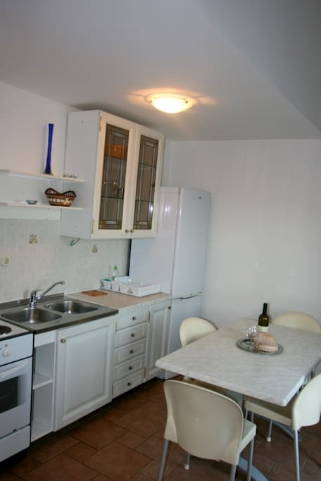 Family apartment with see view