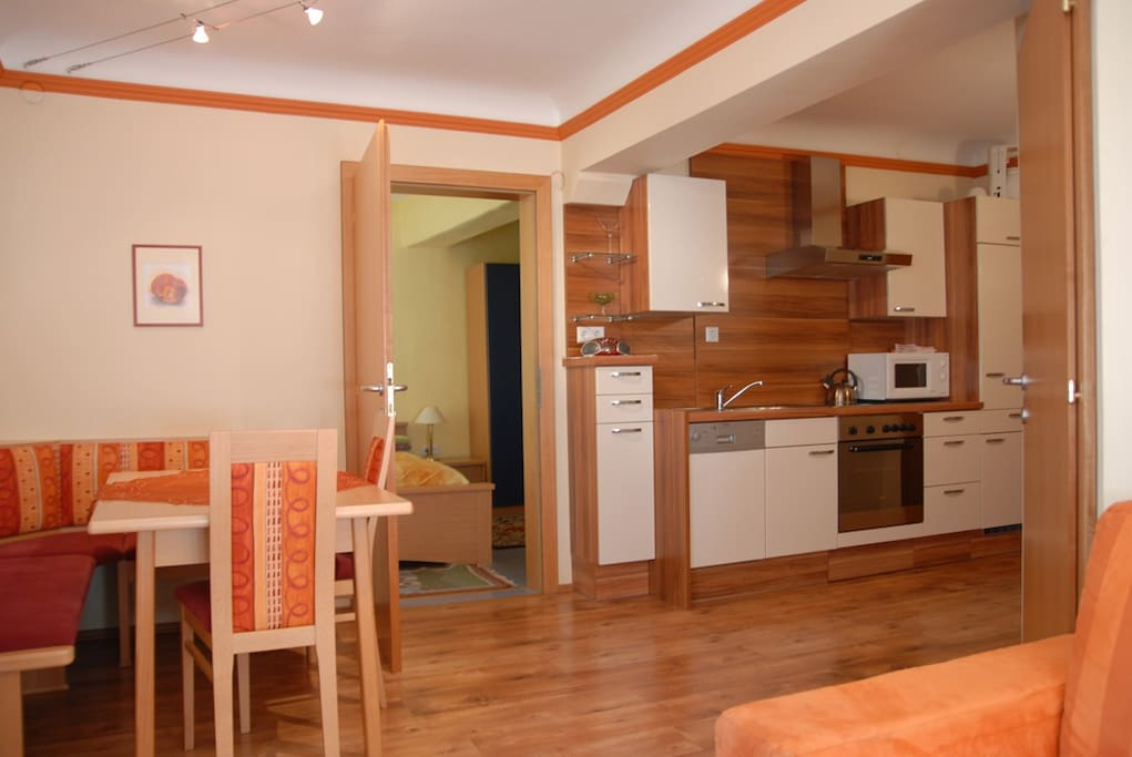 Fully equipped kitchen with all amenities and utensils you could need.