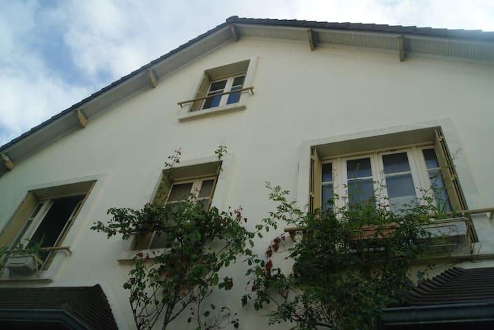 maison familiale au calme et proche de paris