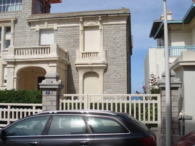 Studio 40M2  bord  plage de BIARRITZ MIRAMAR - Biarritz - Appartement