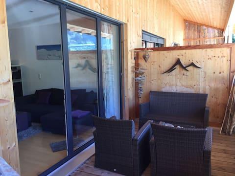 Ferienwohnung im Skigebiet Damüls auf 1400 Meter