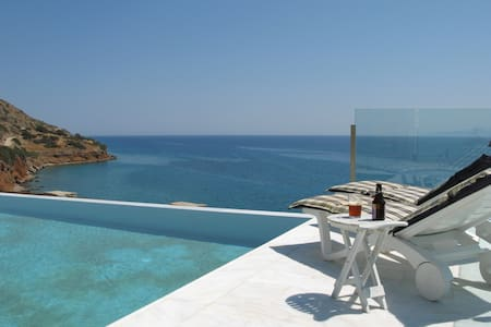 Exceptional Beach Villa 6 Persons - Plaka - House
