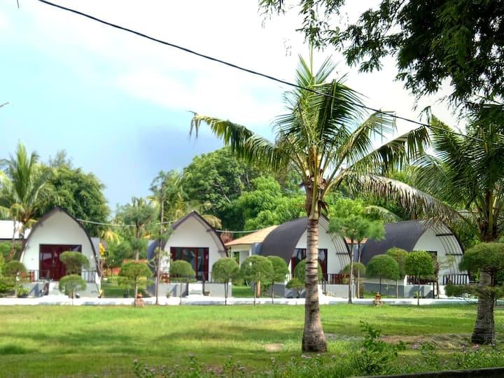 Nusa Indah Bungalows Gili Air - Bungalow Sea View