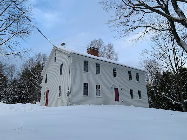 Escape to Safe New Hampshire Country Home