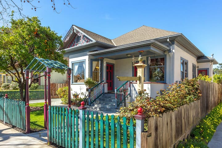Historic Downtown Victorian Modern Amazing Bright! - Campbell - Andere