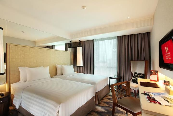 [HOT!]Twin Bed at Kalibata Close to Halim Airport