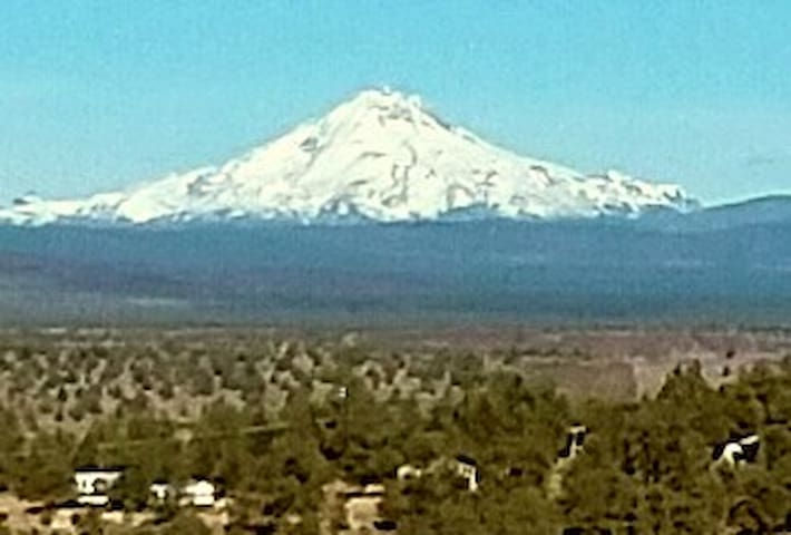 Great Mountain views of the Cascades....