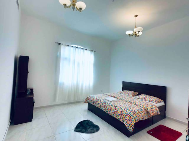 B. Private Room / attached bathroom  in Al Barsha