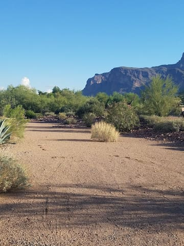 Private RV Space at Superstition Mountain/G.C. AZ.