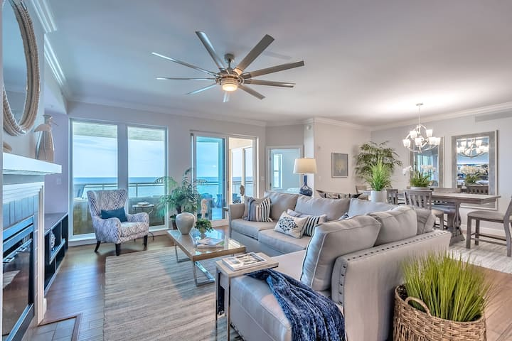 Oceanfront Oasis, steps to the beach 1005
