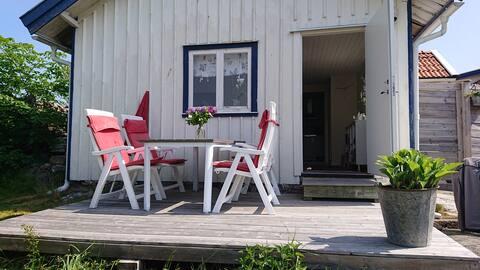 Penzion na útulném Hönö, severní souostroví Göteborgu
