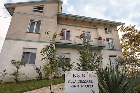 B & B VILLA CECCARINI SOURCE D 'ORO - Montefalco - Bed & Breakfast
