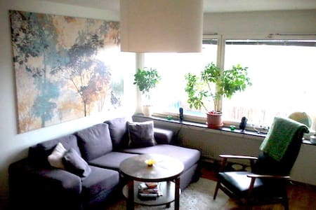 Close to town & by nature reserve - Stockholm - Wohnung